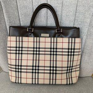 Burberry vintage tote handbag